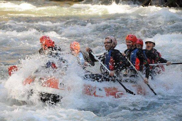 Rafting en Llavorsí - Sort - Collegats, Lleida, España