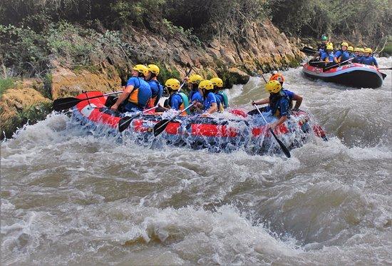 Rafting Aguas bravas en el Río Genil, Benamejí-Palenciana, España