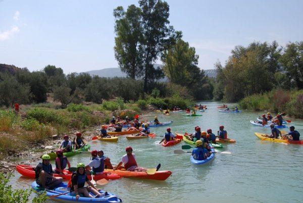 Kayak/Canoraft Río Genil, Córdoba, España