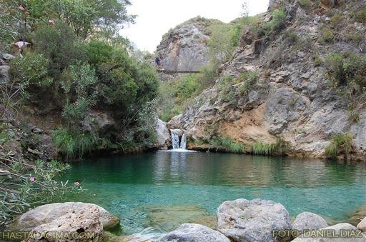Barranquismo Río Verde (tramo inferior), Granada, España