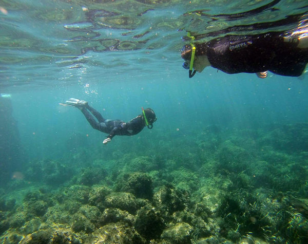 Eco-Snorkel en la reserva marina de las Islas Medas, Gerona, España