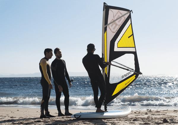 Bono promoción curso windsurf 6 horas en Tarifa, Cadiz, España