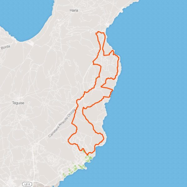 Tour Costa Este con Mountain Bike, Lanzarote, Las Palmas, España