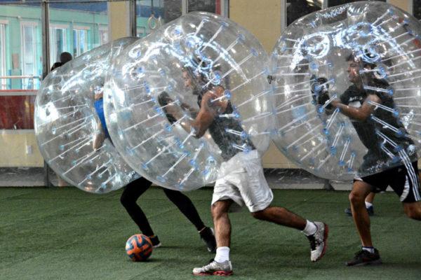 Zorbing, Bubble Soccer, Málaga, España