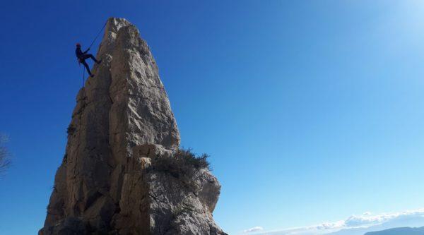 Aventura de escalada y rápel en Málaga, España