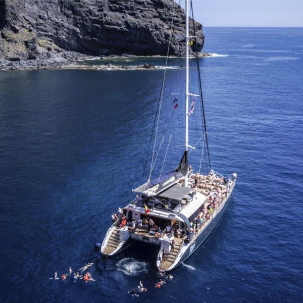 Excursión catamarán en Costa Adeje, Tenerife, España