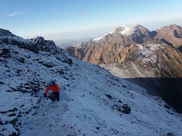 Trek et ascension de Mont Toubkla 8 jours, Maroc
