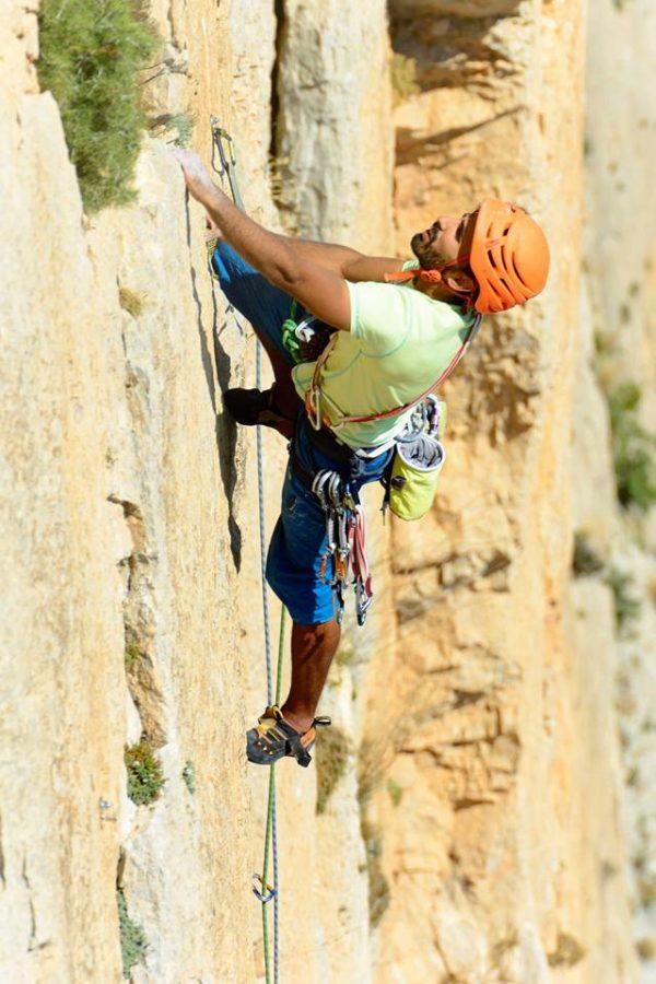 Escalada en roca El Chorro, Málaga, España