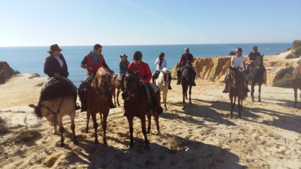 Ruta a caballo completa en Doñana, Huelva, España