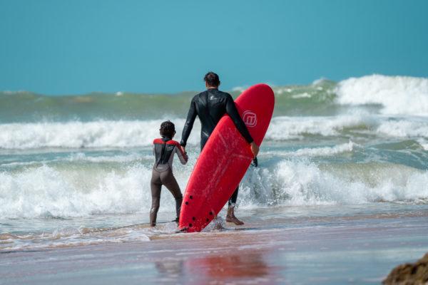 Curso de surf en Dakhla, Marruecos