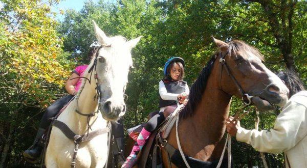 Rutas a caballo en Bedia, Vizcaya, España