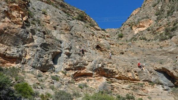 Vía Ferrata de Callosa de Segura, Alicante, España