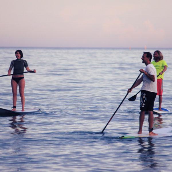 Curso paddle surf en Fuengirola, Málaga, España