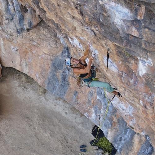 Viaje de escalada en Sella, Alicante, España