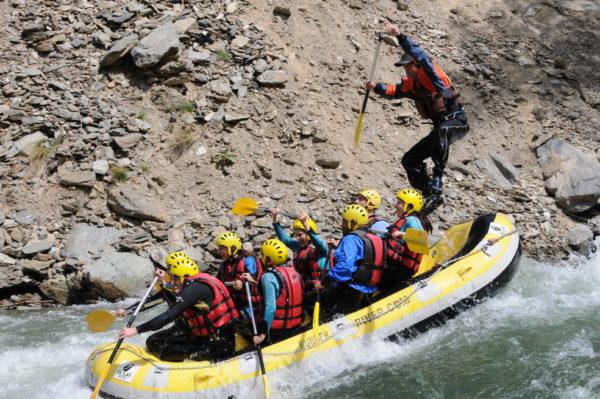 Rafting Llavorsí-Sort, 18km en Sort, Lleida, España