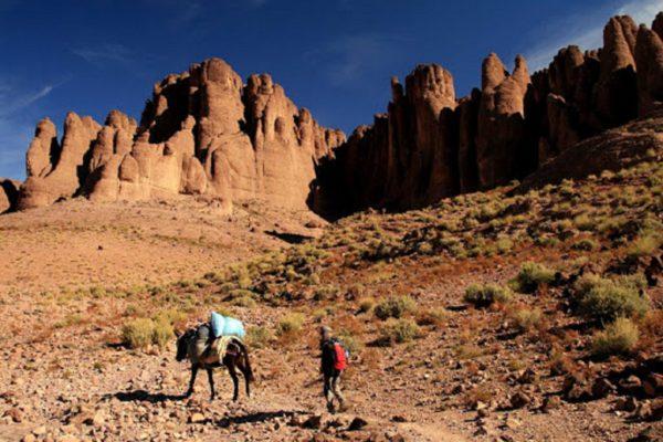 Trek in Jebel Saghro, Morocco