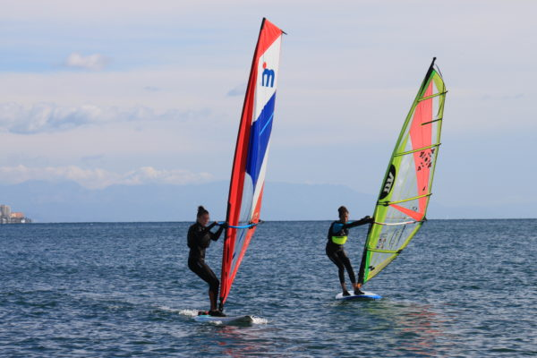 Curso windsurf básico en Fuengirola, Málaga, España