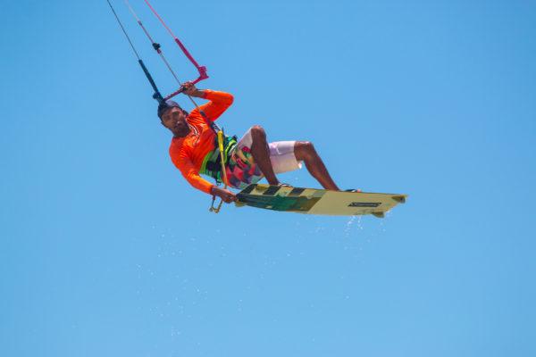 Kitesurf de Cumbuco a Pecém, Brasil