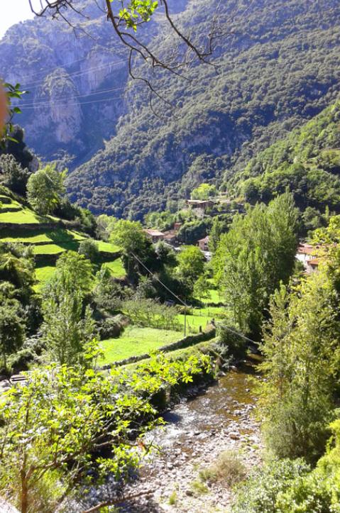 Via ferrata del Milar, Cantabria, España