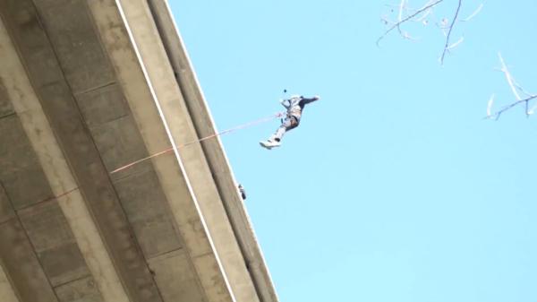 2 saltos de puenting en Sant Sadurní de Anoia, Barcelona, España