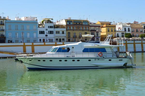 Paseo en barco, Sevilla, España