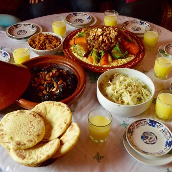 Clase de cocina en Essaouira, Marrakech, Marruecos