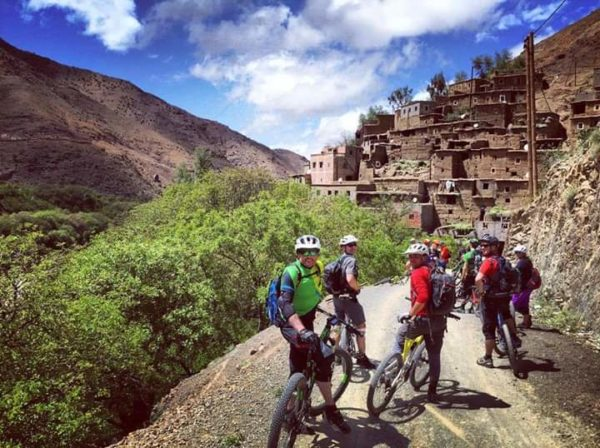 Ruta en bicicleta por el Atlas de Marrakech, Marruecos