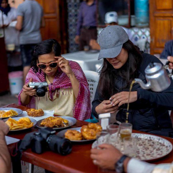 Tour gastronómico, Marrakech, Marruecos