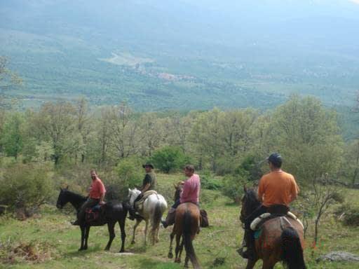 Rutas a caballo 2h Mataelpino, Sierra de Madrid, España