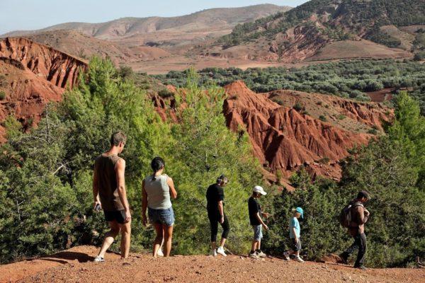 Excursión Familiar al Parque Natural Terres d'Amanar, Marrakech, Marruecos