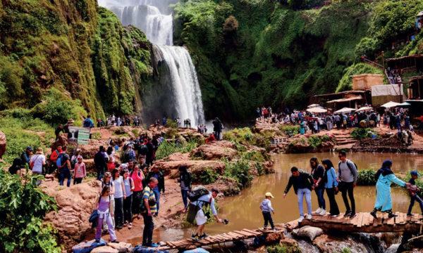 Excursión cascadas de Ouzoud, Marrakech, Marruecos