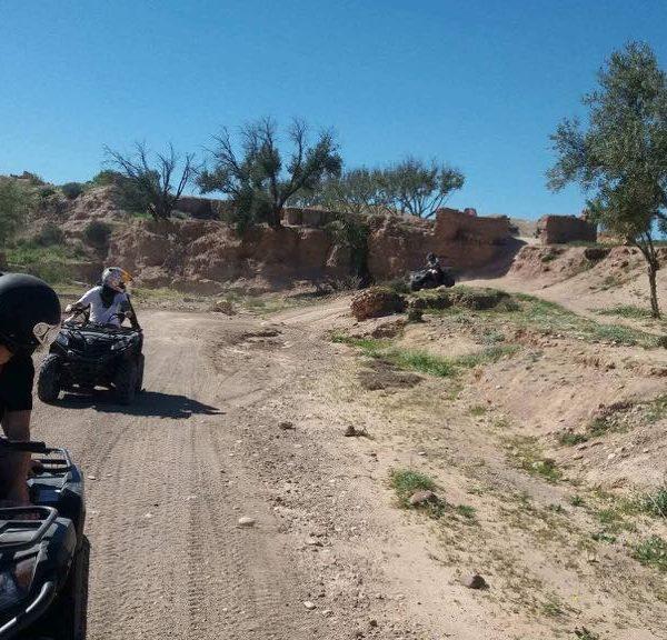 Quad desierto Agafay, Marrakech, Marruecos