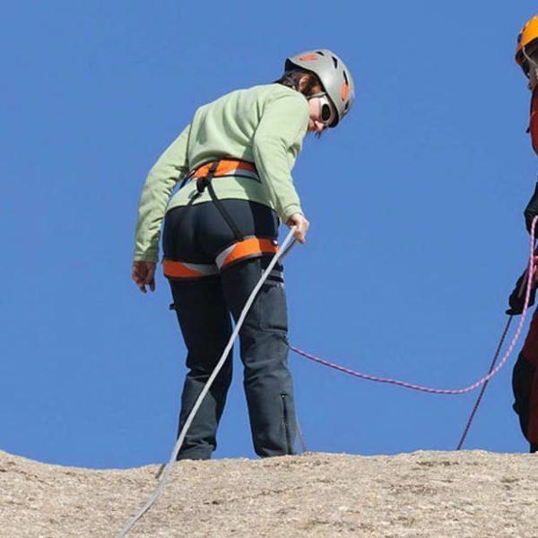 Bautismo de escalada y rápel en Madrid, España