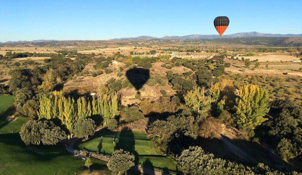 Vuelo en globo en Madrid, España