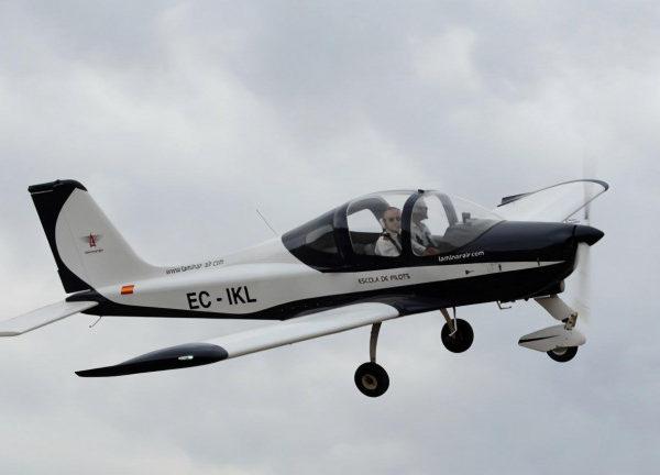 Piloto por un día en Igualada, Barcelona, España