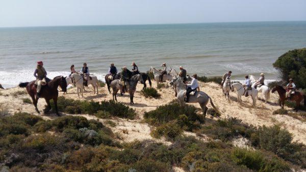 Ruta a caballo, Huelva, España