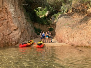 Ruta en Kayak en Sant Felíu de Guixols, Girona, España
