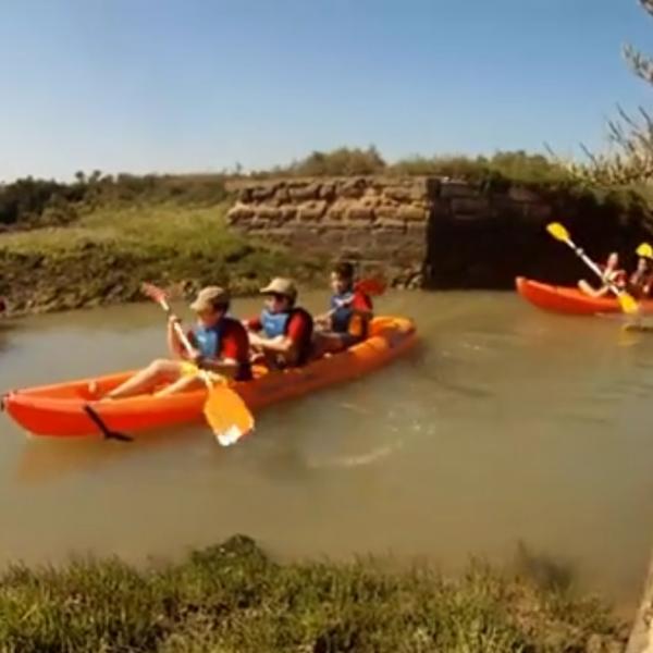 Kayak, Vistahermosa, Cádiz, España