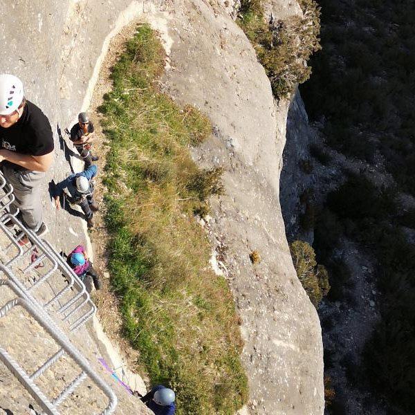 Tour de las Vias Ferratas en Sacedón, Guadalajara, España