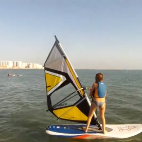 Windsurf, Vista Hermosa, Cádiz, España