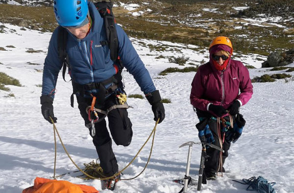 Curso de alpinismo iniciación nivel 1, en Madrid, España
