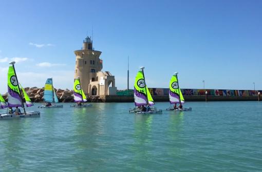 Optimist, navegar en velero, Cádiz