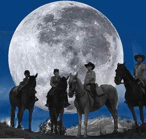 Ruta a caballo luna llena en Málaga, Sierra de las Nieves, España