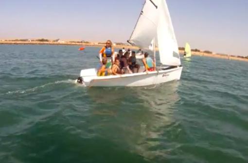 Vela en equipo, Cádiz