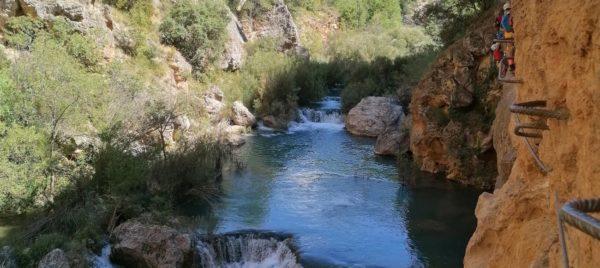 Vía Ferrata Ventano del Diablo Villalba de la Sierra, Cuenca, España