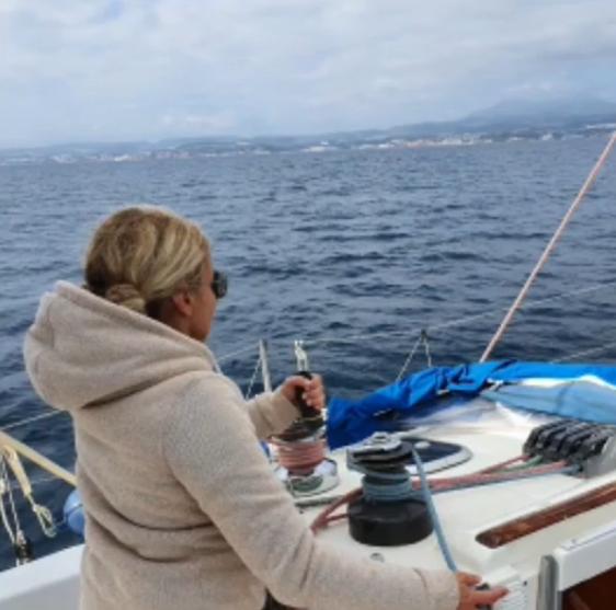 Curso de navegación con licencia, Estepona, Málaga, España