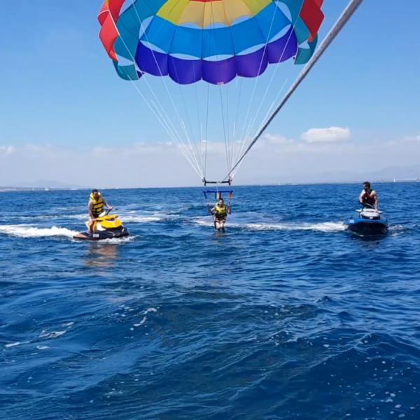 Parasailing, Alicante, España