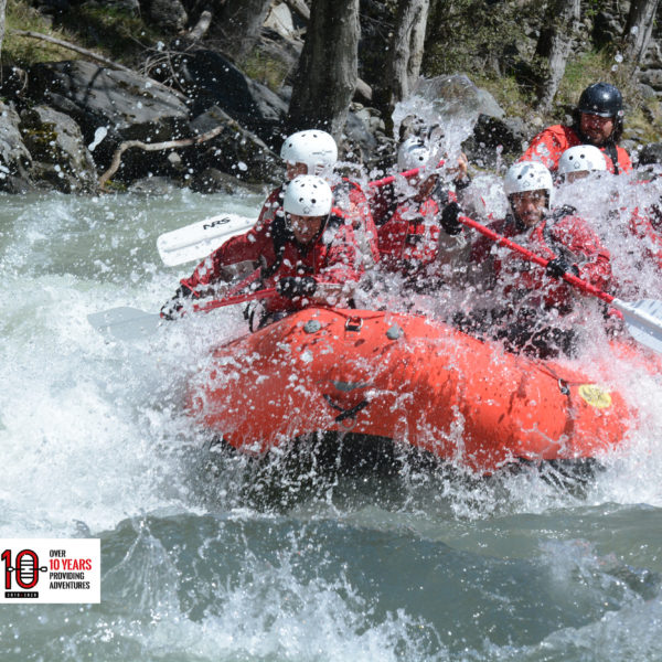 Rafting 18km de adrenalina en pleno Pirineo! Llavorsí-Sort