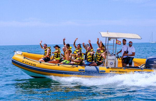 Alquiler de barco con licencia 4 horas, Alicante, España