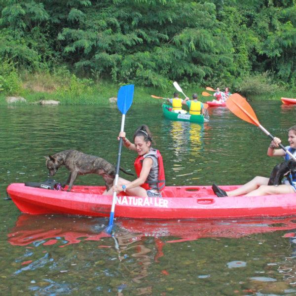 Descenso en canoa por el Río Sella, Asturias, España
